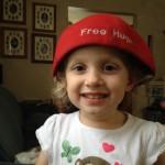 Evelyn Free Hugs hat